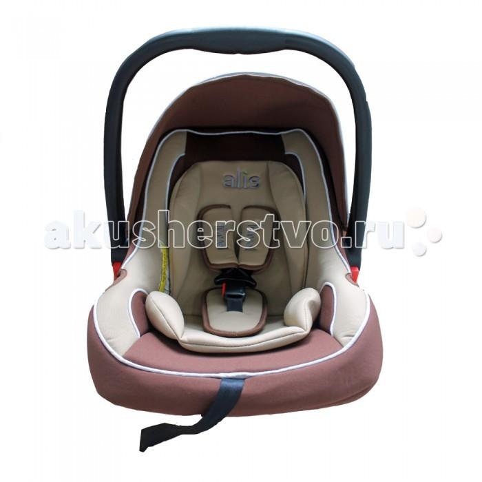 Автокресло Alis TravelTravelAlis Travel - автокресло-переноска группы 0+ для детей с рождения и примерно до 1 года, от 0 до 13 кг веса.   Автокресло устанавливается в салоне автомобиля против хода движения и закрепляется ремнями безопасности. Важно помнить, что установка на переднее пассажирское сиденье предполагает обязательное отключение фронтальной подушки безопасности.   Мягкий вкладыш позволяет перевозить маленьких детей с максимальным комфортом.  Особенности: удобная ручка для переноски дополнительный внутренний вкладыш съемный чехол из прочной и практичной ткани трехточечные ремни безопасности с мягкими накладками вкладыш-позиционер для самых маленьких можно убрать высокие и мягкие бортики предусмотрен козырек от солнца<br>