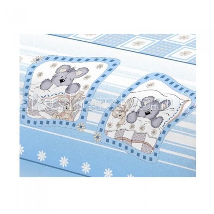Комплекты в кроватку Alis Зайки в ромашках (6 предметов) alis коляска 2 в 1 mateo alis бежевый слоновая кость