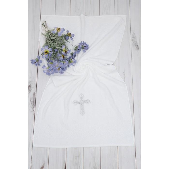Крестильная одежда Alivia Kids Крестильное полотенце с крестом 130х70 12.703