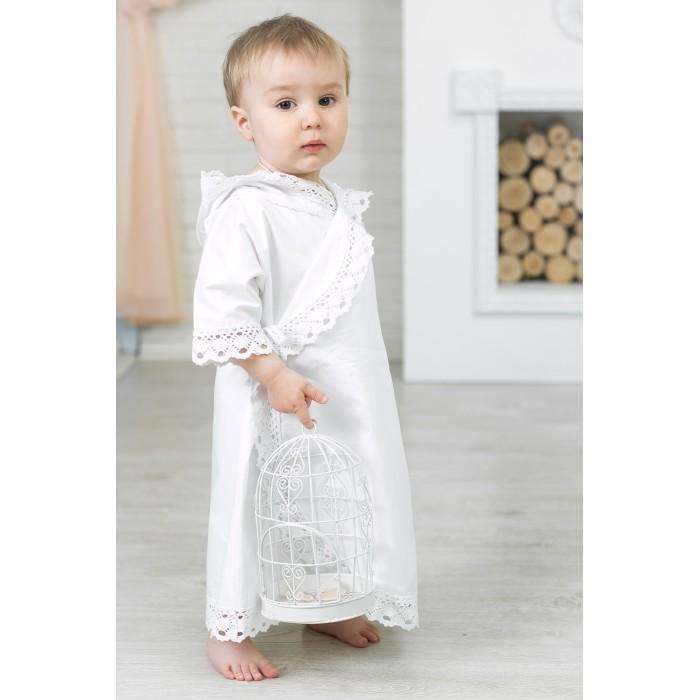 Детская одежда , Крестильная одежда Alivia Kids Крестильная рубашка Ажурный хлопок 18.002.10 арт: 341760 -  Крестильная одежда