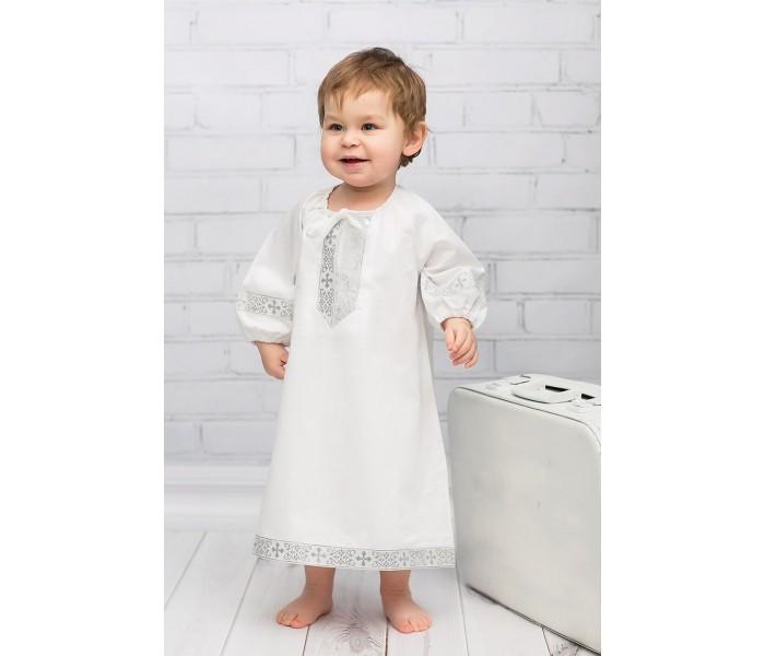 Детская одежда , Крестильная одежда Alivia Kids Крестильная рубашка Русская традиция 18.012 арт: 341845 -  Крестильная одежда