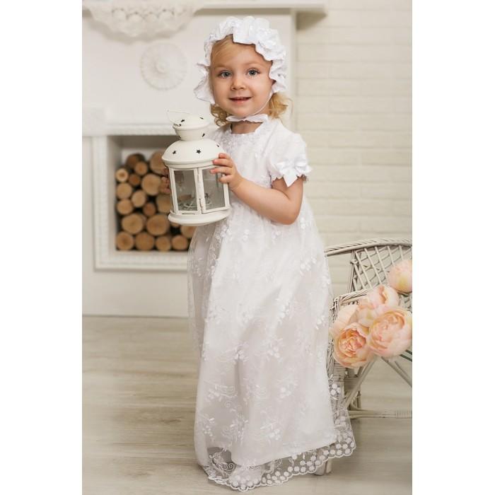 Детская одежда , Крестильная одежда Alivia Kids Крестильный набор для девочки Нежность 15.254.10 арт: 341745 -  Крестильная одежда