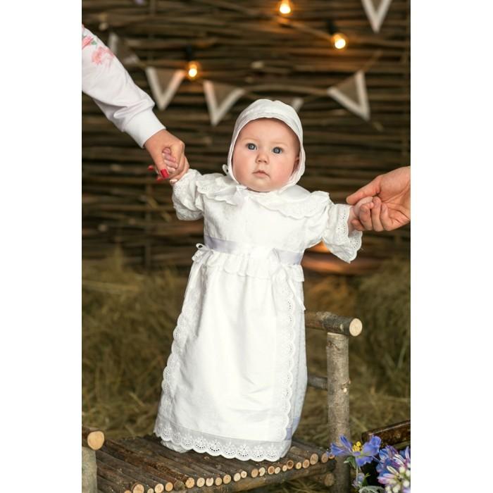 Детская одежда , Крестильная одежда Alivia Kids Крестильный набор для девочки Воздушное шитье 15.253.13 арт: 341735 -  Крестильная одежда