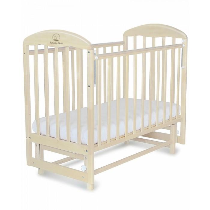 Детская кроватка Альма-Няня Венеция (поперечный маятник)  (АИ000000399)