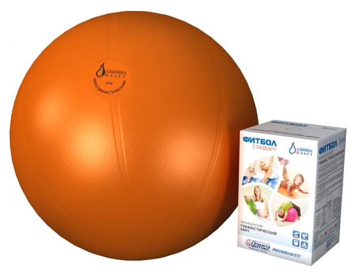 Спорт и отдых , Мячи Альпина Пласт Мяч гимнастический фитбол Стандарт 55 см арт: 149067 -  Мячи