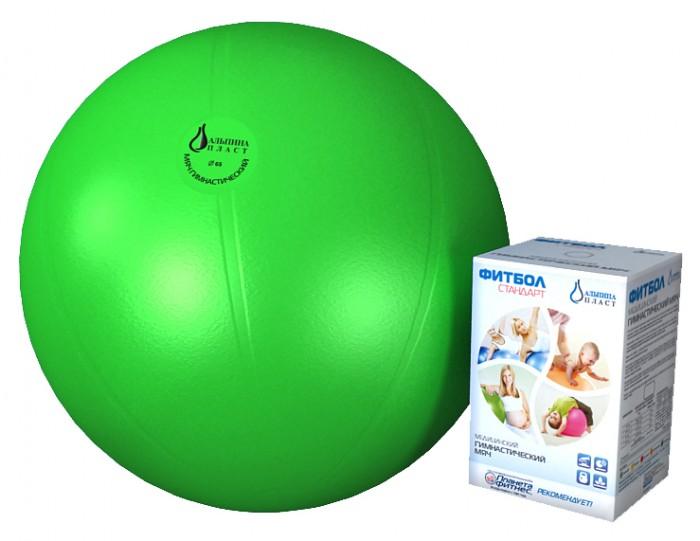 Спорт и отдых , Мячи Альпина Пласт Мяч гимнастический фитбол Стандарт 75 см арт: 149091 -  Мячи