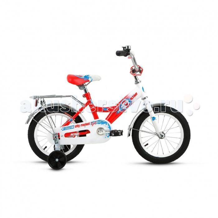 Детский транспорт , Двухколесные велосипеды Altair City Boy 14 (2017) арт: 455421 -  Двухколесные велосипеды