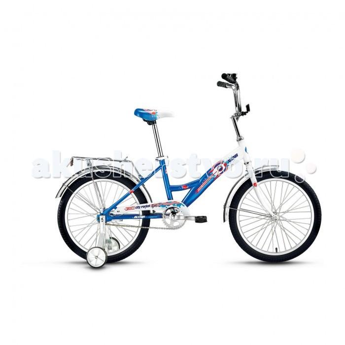 Двухколесные велосипеды Altair City Boy 20 (2017) altair city boy 18 2017 white blue