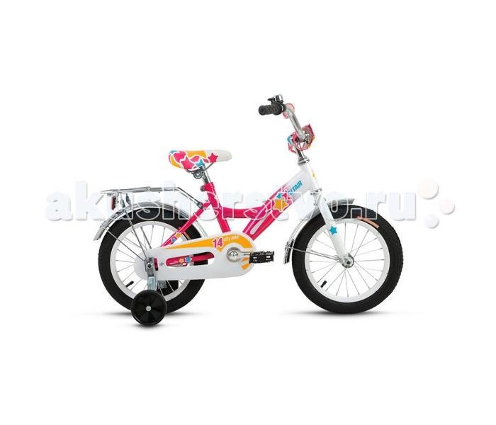 Детский транспорт , Двухколесные велосипеды Altair City Girl 14 (2017) арт: 455446 -  Двухколесные велосипеды