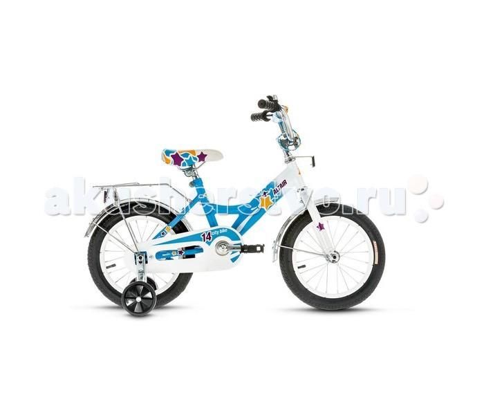 Двухколесные велосипеды Altair City Girl 14 (2017) детский велосипед для девочек altair city girl 12 2015 white blue