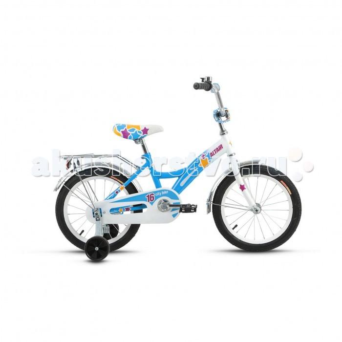 Детский транспорт , Двухколесные велосипеды Altair City Girl 16 (2017) арт: 455486 -  Двухколесные велосипеды