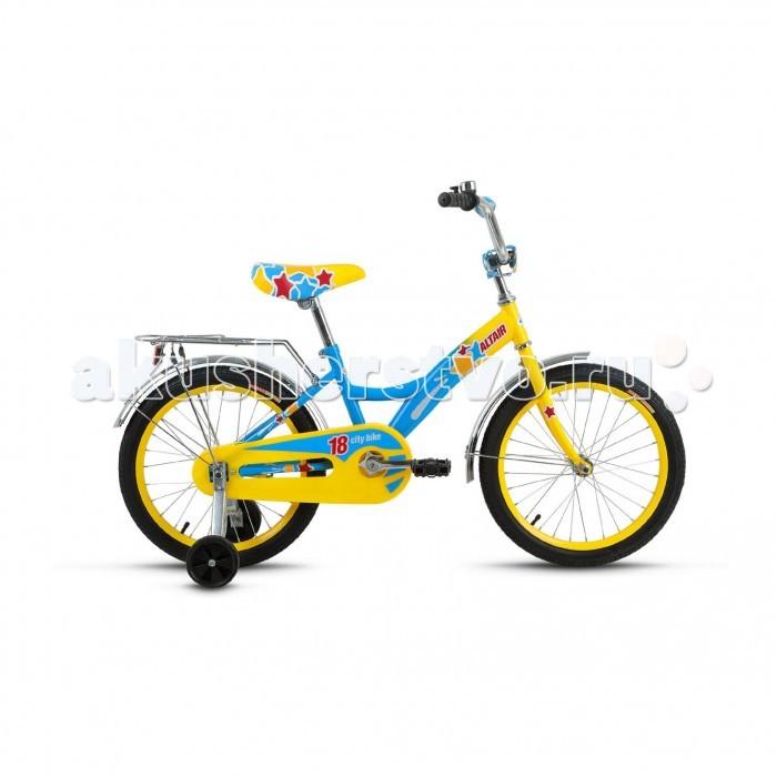 Двухколесные велосипеды Altair City Girl 18 (2017) altair city boy 18 2017 white blue
