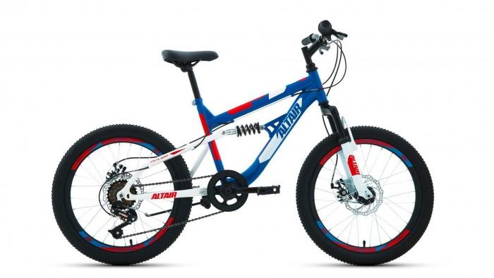 Двухколесные велосипеды Altair Mtb Fs 20 Disc 14 2020