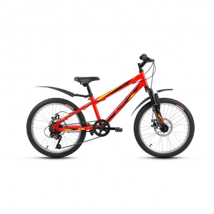 Велосипед двухколесный Altair MTB HT 20 Disc (2017)MTB HT 20 Disc (2017)Велосипед двухколесный Altair MTB HT 20 Disc (2017) предназначен для детей от 6 до 9 лет (ростом 115-140 см). Отличный выбор для детей, предпочитающих спортивный стиль езды.   Особенности: велосипед с оборудованием начального класса SunRun 6 скоростей стальная рама Hi-Ten амортизационная вилка Partner 158D одинарные алюминиевые обода Forward SW дисковые механические тормоза Power BX-350 подножка подходит для обучения и прогулочного катания в городских условиях диаметр колес: 20 дюймов.<br>
