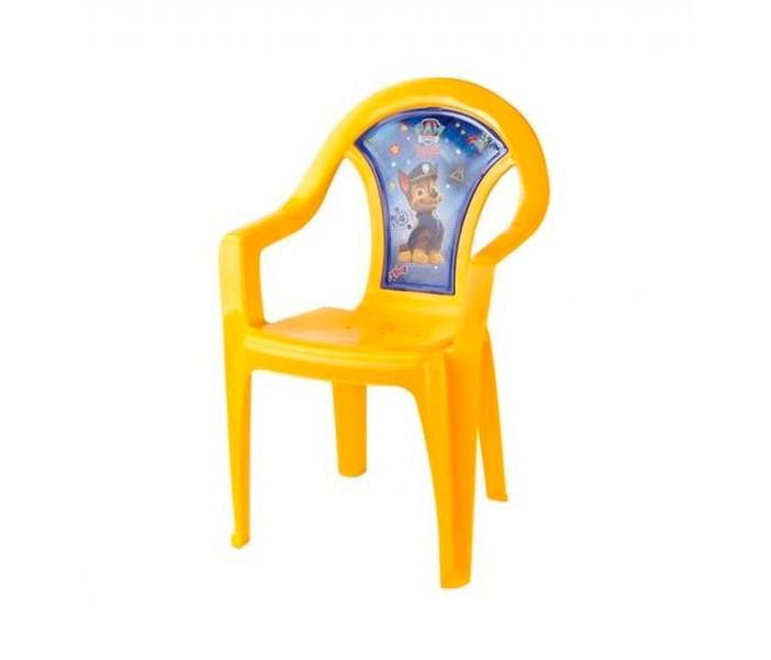 Пластиковая мебель Щенячий патруль (Paw Patrol) Кресло детское 610 мешок для обуви paw patrol для девочки