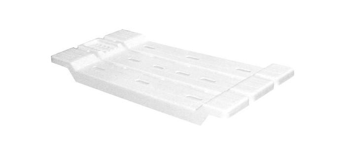 Аксессуары для ванн Альтернатива (Башпласт) Полка-сиденье для ванны