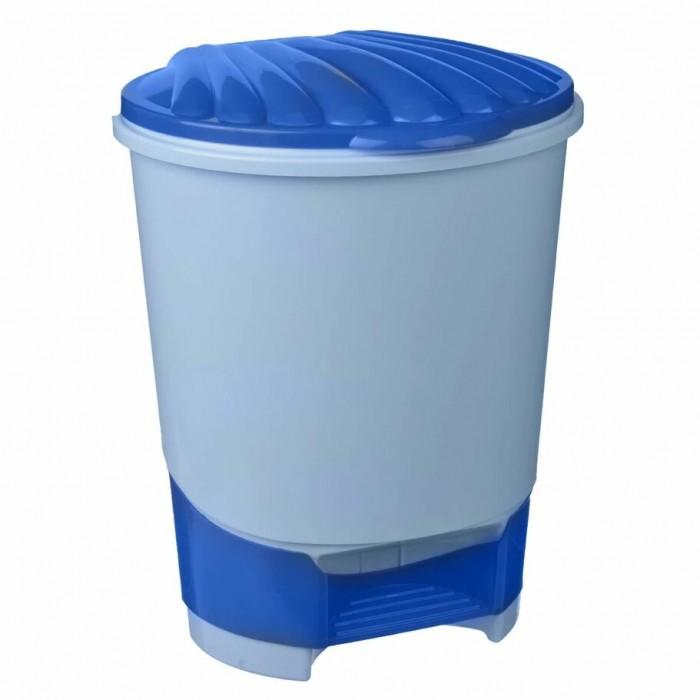 Хозяйственные товары Альтернатива (Башпласт) Ведро для мусора с подножкой 10 л