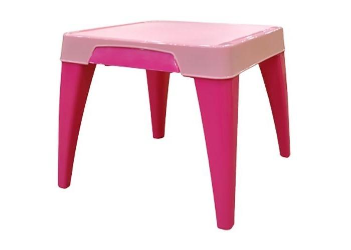 Little Angel Детский стол Я растуДетский стол Я растуДетский стол Я расту  Детский стол рекомендуется для детей от 2 до 6 лет, именно в этот период малыши начинают интересоваться развивающими играми и творчеством.   Детский стол Я расту имеет особую конструкцию, максимально удобную и безопасную для детей. Все углы и ножки стола имеют округлую форму, что особенно важно для активных и не всегда внимательных деток.   Есть выдвижной ящик для хранения ручек, карандашей, пластилина и прочих полезных мелочей. Углубления для карандашей, ручек и кисточек по краям столешницы.   Стол будет стоять на месте, даже если ребенок слегка облокотится на него, на ножках имеются противоскользящие фиксаторы, что особенно полезно во время кормления, стол не будет ездить по половому покрытию от малейшего прикосновения, его конструкция достаточно устойчива и практична.  Размеры: 60,5*60,5*50 см<br>
