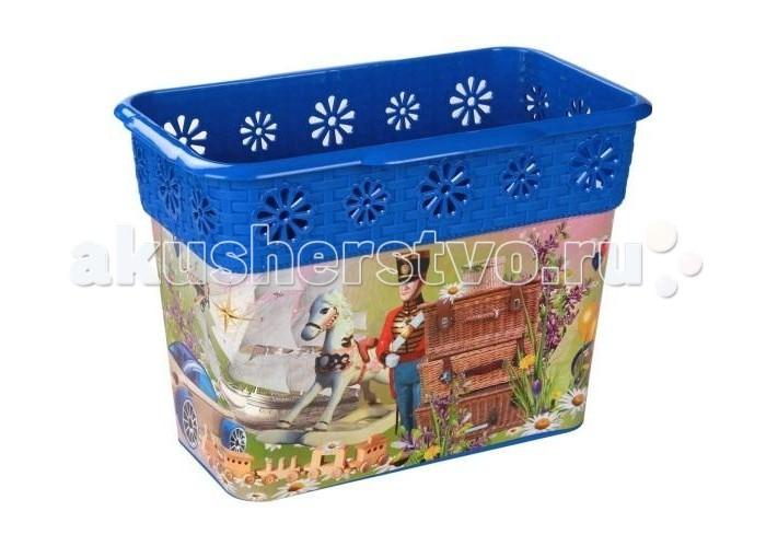 Ящики для игрушек Альтернатива (Башпласт) Корзина универсальная 10 л каталки альтернатива башпласт слонёнок