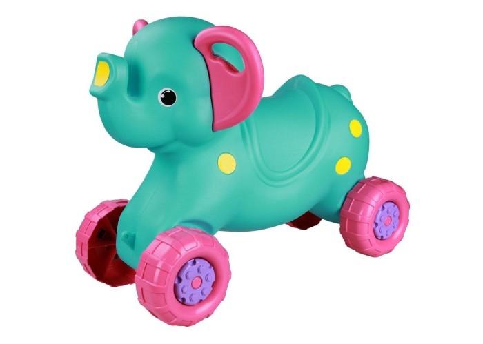 Каталки Альтернатива (Башпласт) Слонёнок игрушка альтернатива слонёнок м4936 ligth green