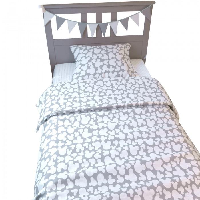 Купить Постельное белье 1.5-спальное, Постельное белье AmaroBaby 1.5 спальное Time to Sleep Мышонок (3 предмета)