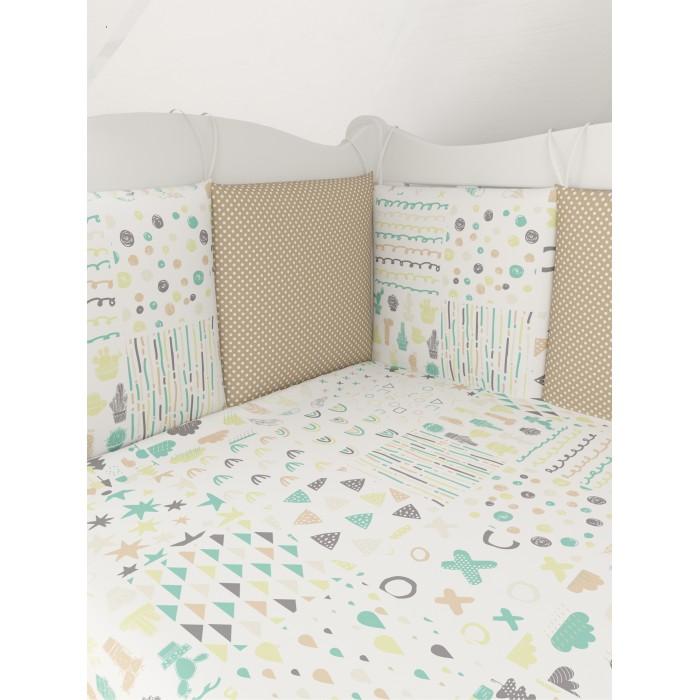 Комплект в кроватку AmaroBaby Абстракция (15 предметов) AMARO-3015-Abs