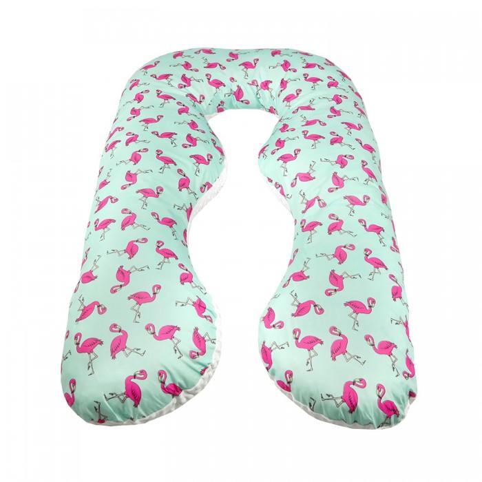 AmaroBaby Подушка для беременных Фламинго 340х72 см фото