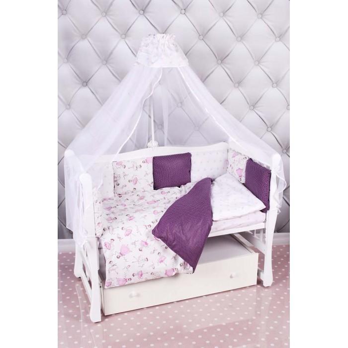 Постельные принадлежности , Комплекты в кроватку AmaroBaby Амели Premium (18 предметов) арт: 544321 -  Комплекты в кроватку