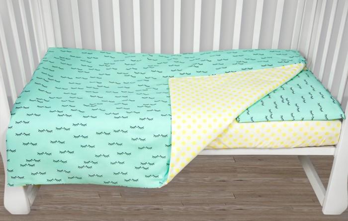 Фото - Постельное белье AmaroBaby Baby Boom Реснички (3 предмета) amarobaby комплект в кроватку baby boom короны 3 предмета серый