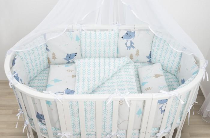 Фото - Постельное белье AmaroBaby Baby Boom В лесу (3 предмета) amarobaby комплект в кроватку baby boom короны 3 предмета серый