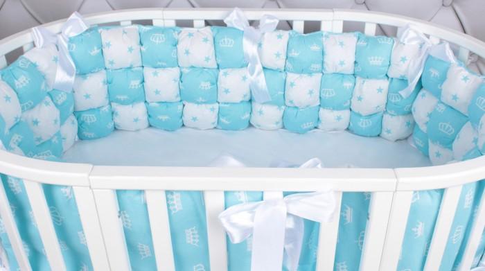Бортик в кроватку AmaroBaby Бонбон Royal Care 6 подушек