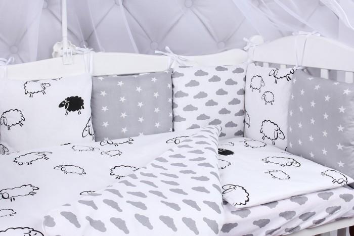 Купить Бортики в кроватку, Бортик в кроватку AmaroBaby Good Night 12 подушек