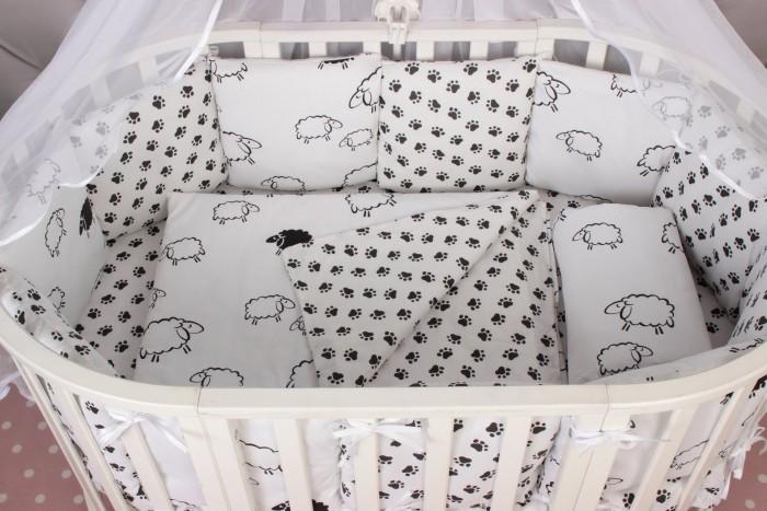Постельные принадлежности , Бортики в кроватку AmaroBaby Home Elite 12 подушек арт: 539231 -  Бортики в кроватку