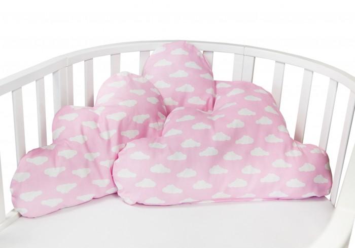 Бортики в кроватку AmaroBaby Sunny Day Облачко 3 подушки подушки