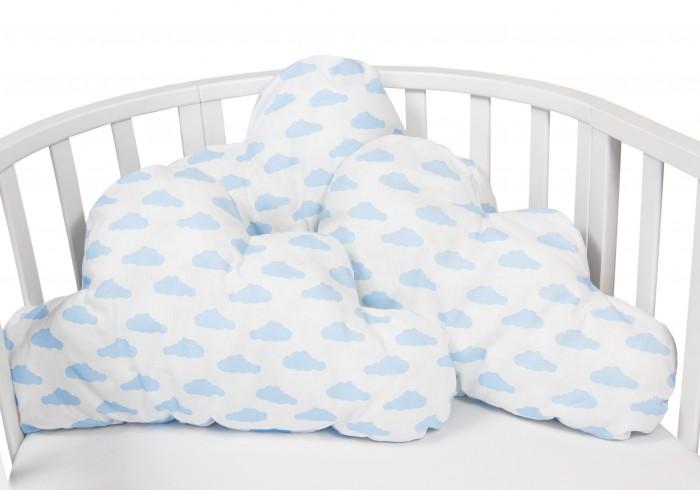 Бортики в кроватку AmaroBaby Sunny Day Облачко 3 подушки