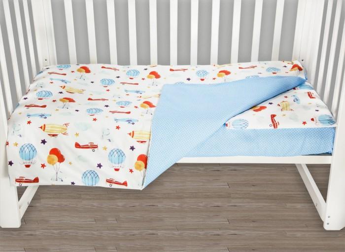 Фото - Постельное белье AmaroBaby Baby Boom Воздушный парад (3 предмета) amarobaby комплект в кроватку baby boom короны 3 предмета серый