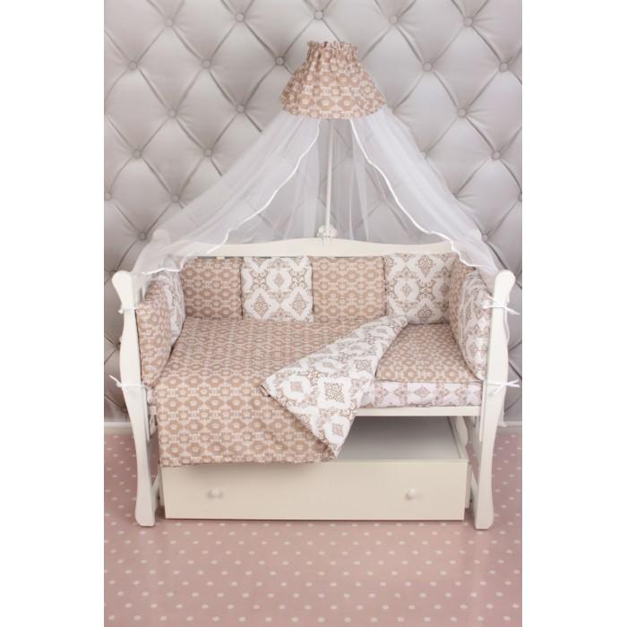 Комплект в кроватку AmaroBaby Короны Premium(19 предметов)