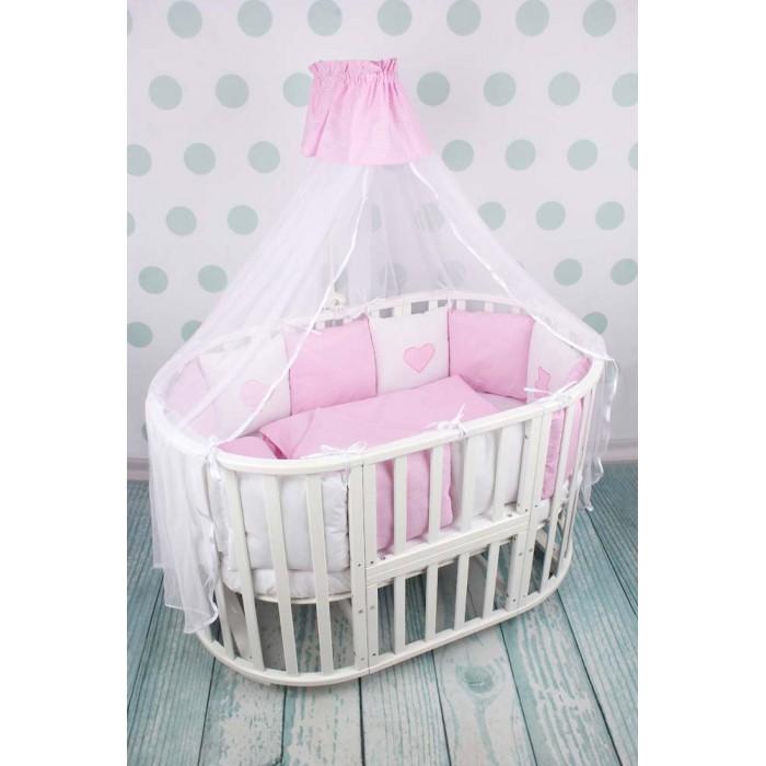 Комплекты в кроватку AmaroBaby Кроха Premium (18 предметов), Комплекты в кроватку - артикул:517236