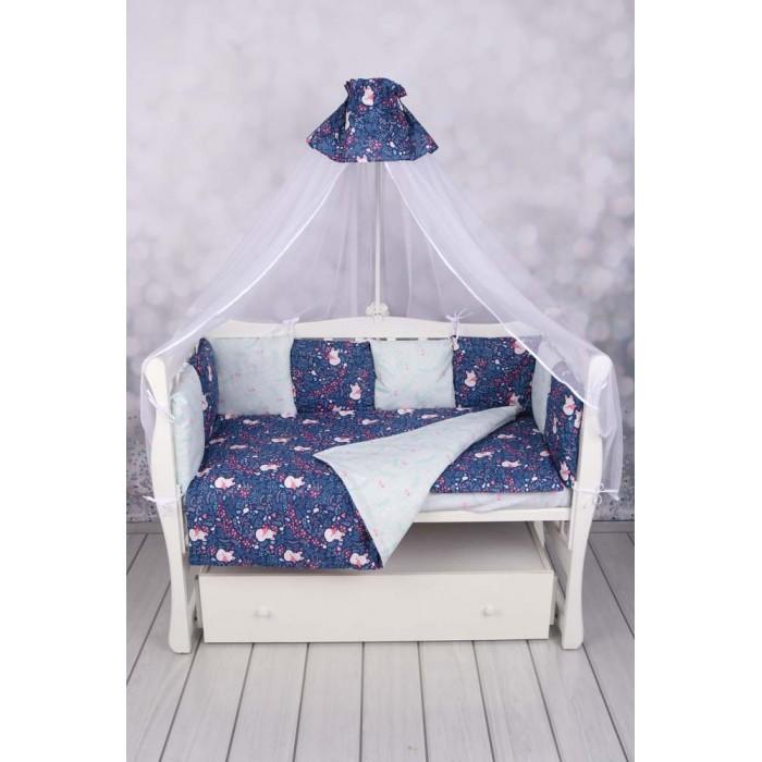 бортики в кроватку Бортики в кроватку AmaroBaby Лисички 12 подушек