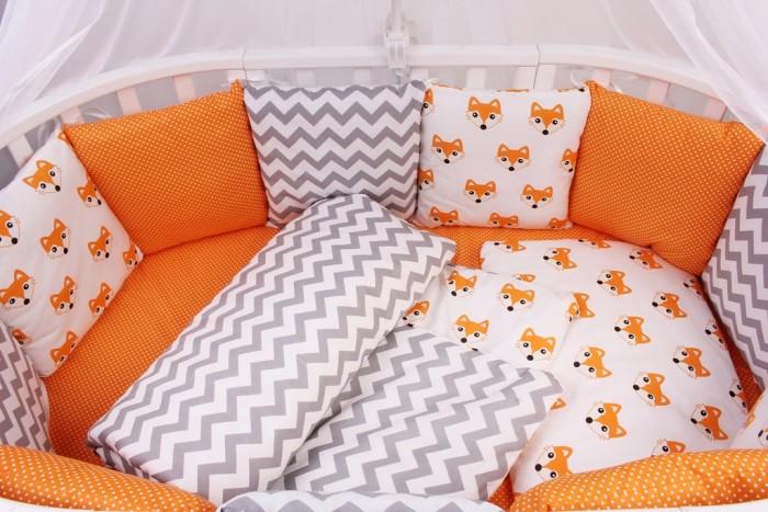 Купить Бортики в кроватку, Бортик в кроватку AmaroBaby Lucky 12 подушек