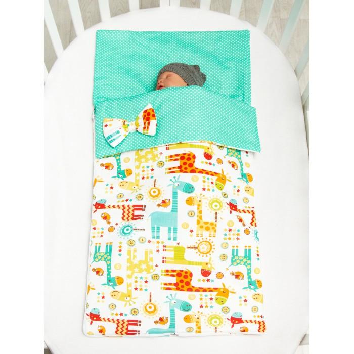 Купить Спальные конверты, Спальный конверт AmaroBaby Magic Sleep Жирафики