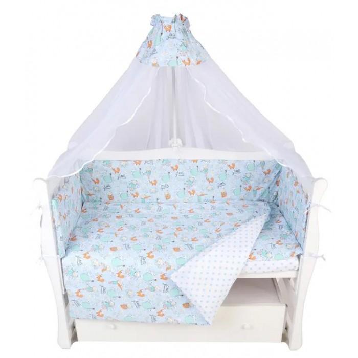 Комплект в кроватку AmaroBaby Трасса (7 предметов)
