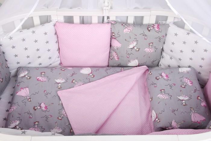 Купить Бортики в кроватку, Бортик в кроватку AmaroBaby Мечта 12 подушек