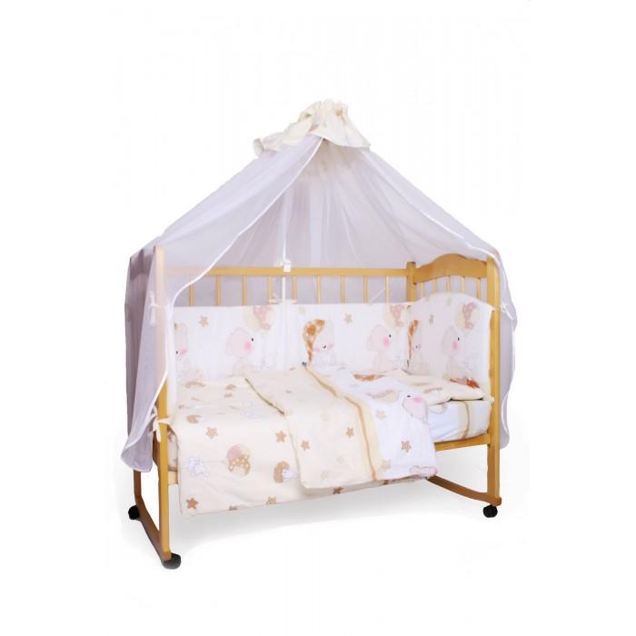 Постельные принадлежности , Комплекты в кроватку AmaroBaby Мишкин сон (7 предметов) арт: 365958 -  Комплекты в кроватку