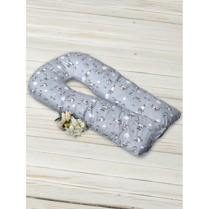 Купить Наволочки, AmaroBaby Exclusive Soft Наволочка к подушке для беременных 101 Барашек 340х35 см