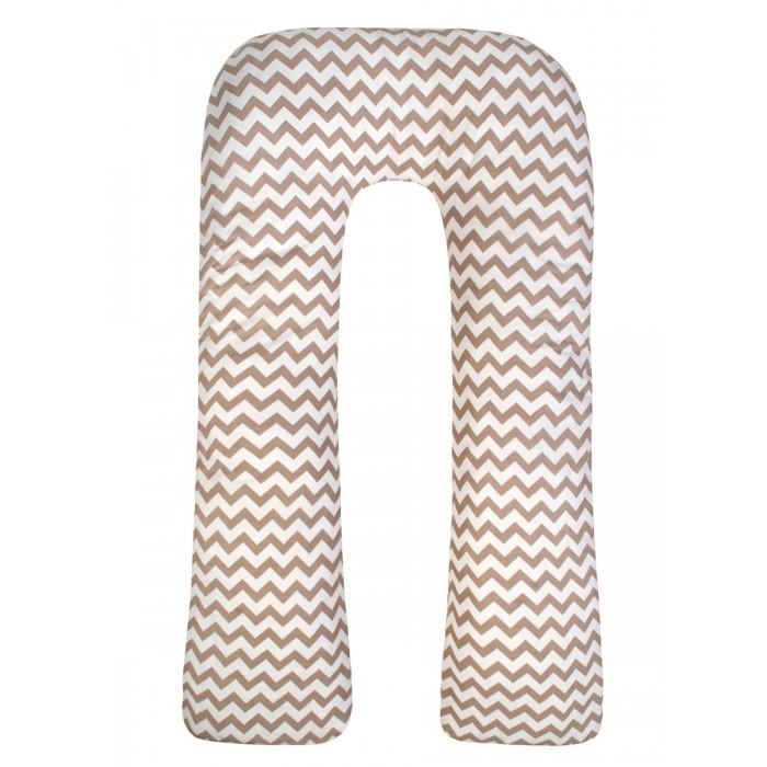 Наволочки AmaroBaby Наволочка к подушке для беременных U-образная Зигзаг 340х35 см