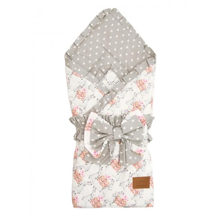 Картинка для Конверты на выписку AmaroBaby Конверт-одеяло на выписку Happy Подарочек