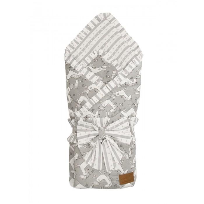 Фото - Конверты на выписку AmaroBaby Конверт-одеяло на выписку Happy Сказочные единорожки конверты на выписку amarobaby одеяло на выписку bon bon индейцы