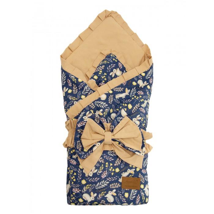 Фото - Конверты на выписку AmaroBaby Конверт-одеяло на выписку Happy Зайчики конверты на выписку amarobaby одеяло на выписку bon bon индейцы