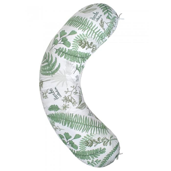 Купить Подушки для беременных, AmaroBaby Exclusive Soft Подушка для беременных Папоротники 170х25 см